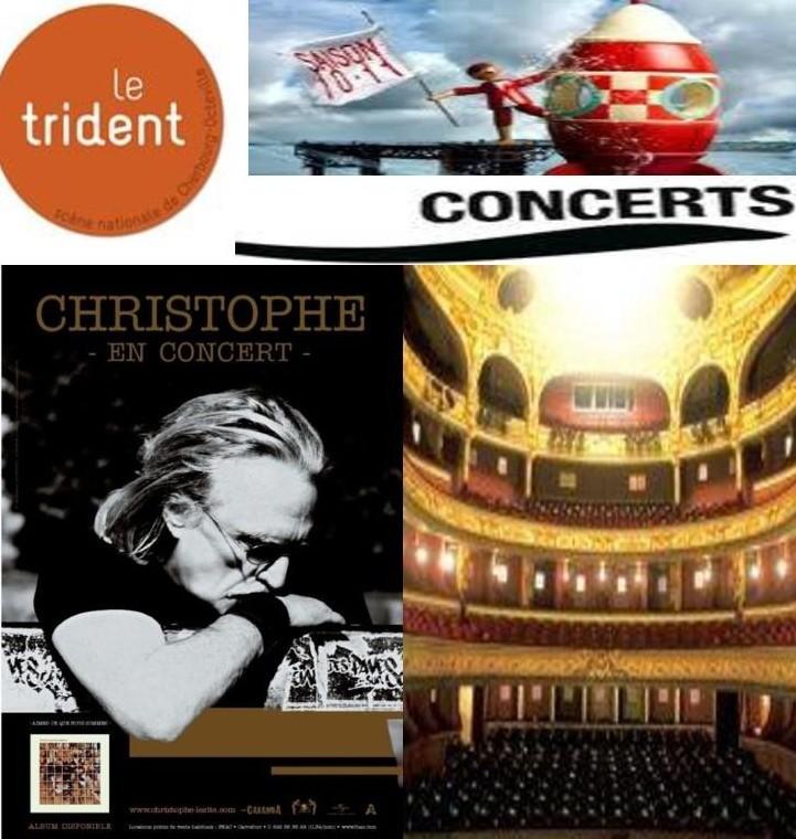 15/10/2011 – Concert Christophe Le Trident scene Nationale, CHERBOURG (50) (France) Doc122