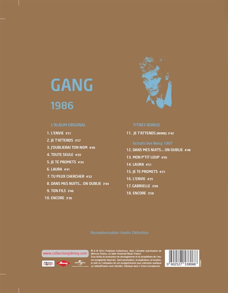 Le numéro 6: 1986 Gang Jhcoll15