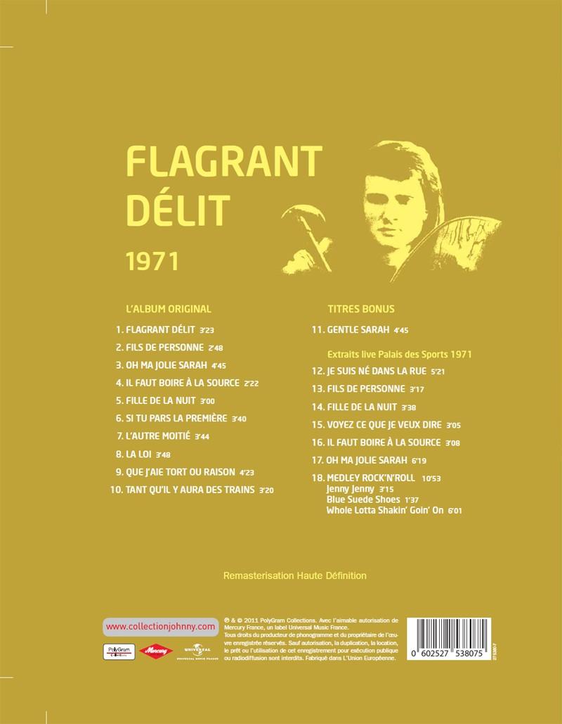 Le n° 7: 1971 Flagrant délit Jhcoll21