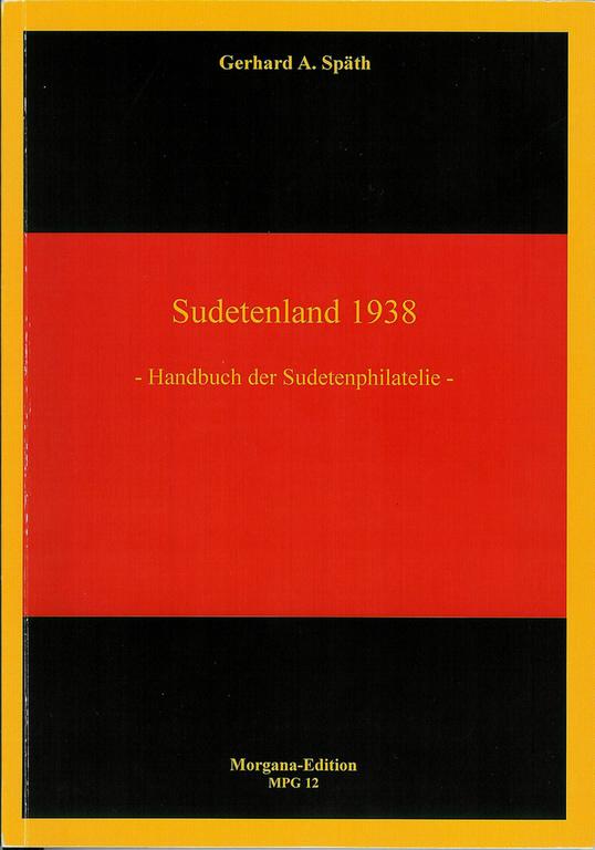 Sudetenland 1938 -Handbuch der Sudetenphilatelie- Titelb10
