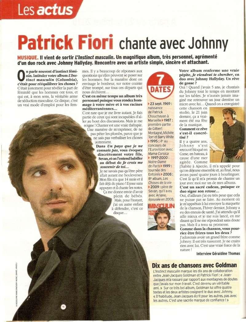 Nouveau CD de Johnny dans Télé7jours Numari21