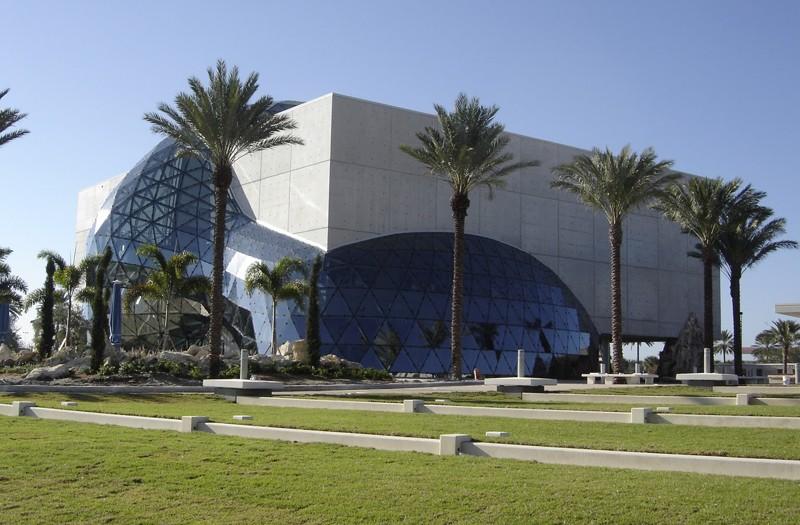 Le nouveau musée Salvador Dali à Saint Petersburg - Floride - USA 1_dali10