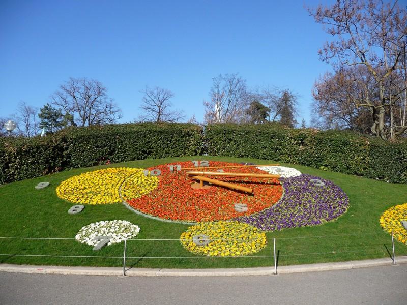 La montre fleurie de Genève - Suisse Pendul10