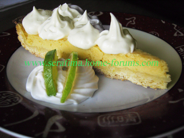 Лимонный тарт, нежная начинка с лимонным вкусом Imag0110