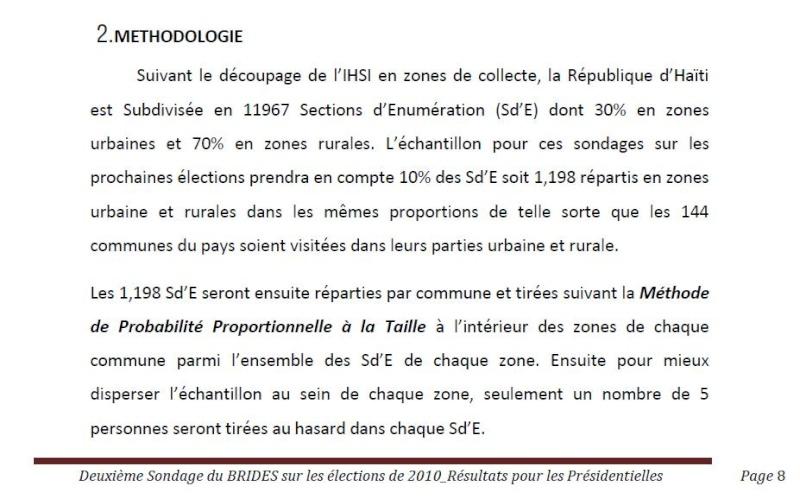 Manigat sereine, Martelly jubile, Céant doute Method10