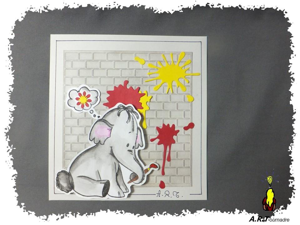 Disney Cards {Dumbo l'Eléphant volant} - Page 2 Art_2030