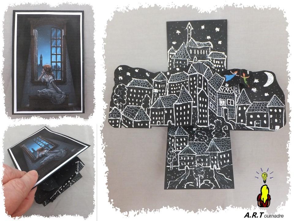 Disney Cards {Peter Pan's flight} La galerie  Art_2041