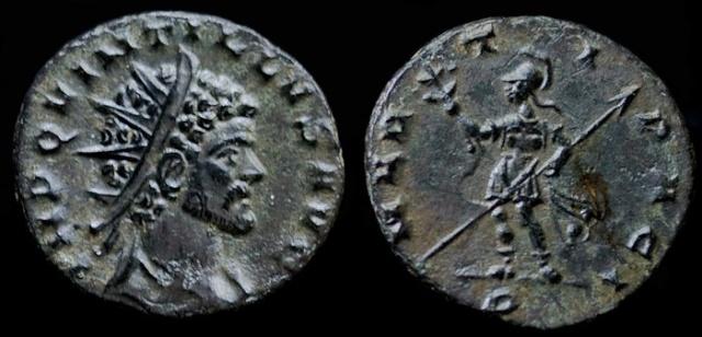 Monnaies de Claude II et références Quinti10
