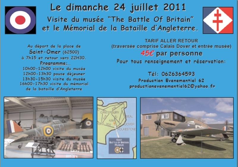 Visite du Musée de la Bataille d'Angleterre.. 2011-011