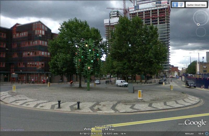 STREETVIEW: où va t-on?, Greater London, UK Feu_tr10