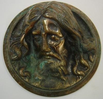Applique avec Tête du Christ - fin XIXème  Atete110