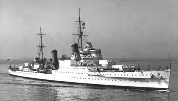 HMS MANCHESTER OPERATION PEDESTAL TUNISIE KELIBIA Manche10