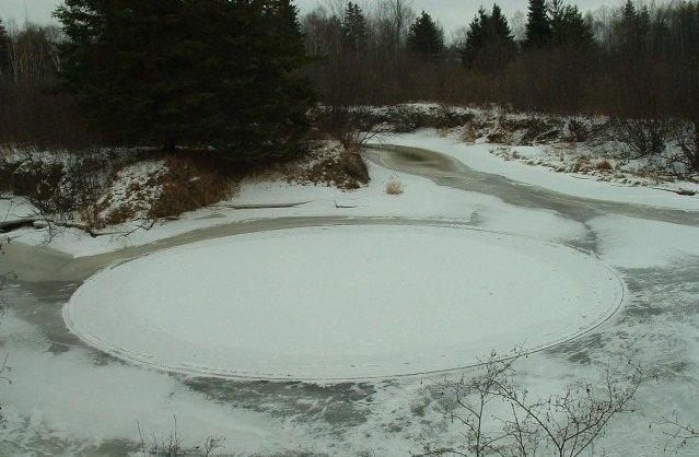 Rrathët në Grurë - Crop Circle Icecir10