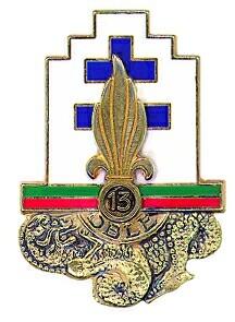 Les devises des régiments de la Légion Etrangère 13dble16