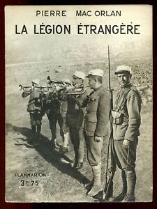 Vieux livres Légion Etrangère 193311