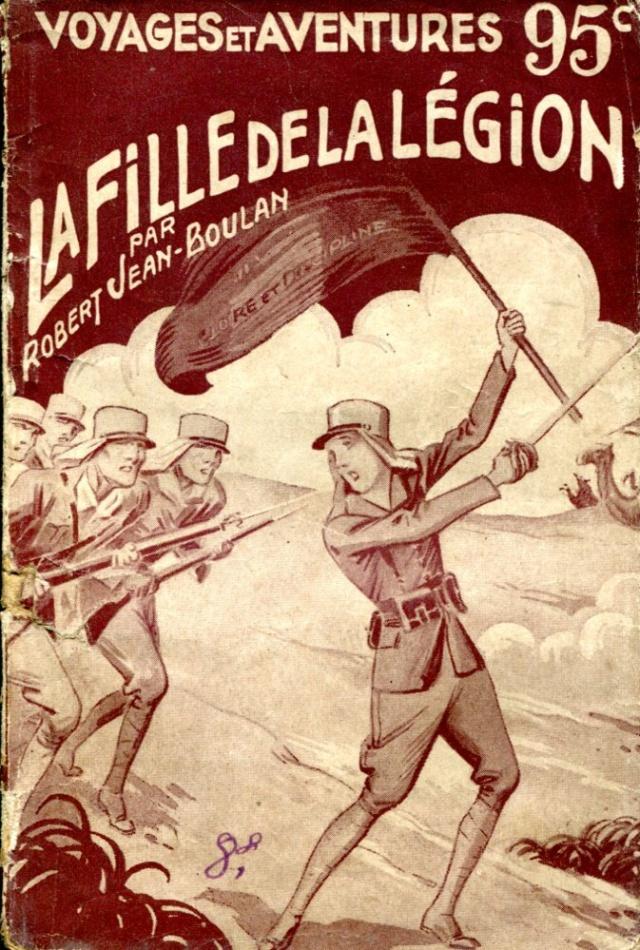 Vieux livres Légion Etrangère 193910