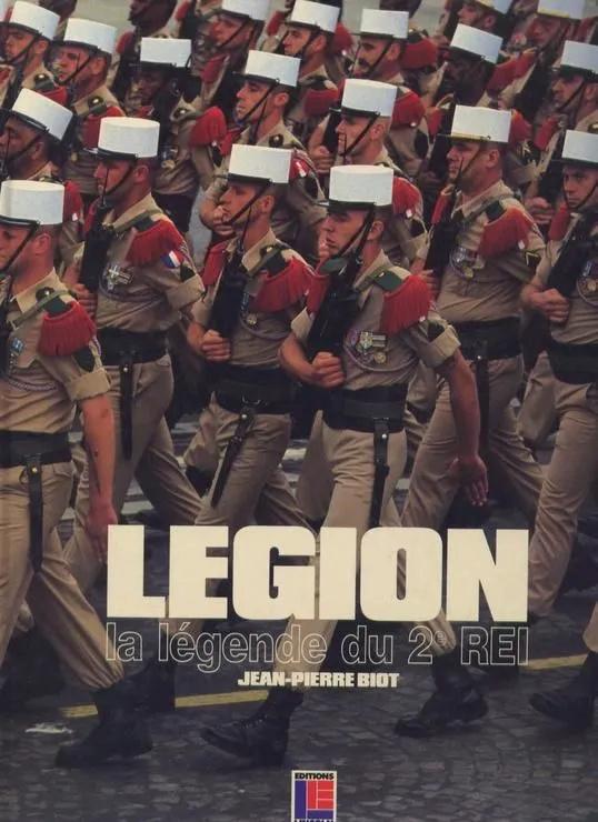Vieux livres Légion Etrangère 1991_w10