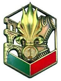 Les devises des régiments de la Légion Etrangère 1reg16