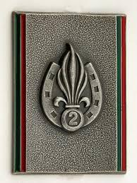 Les devises des régiments de la Légion Etrangère 2rei19