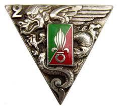 Les devises des régiments de la Légion Etrangère 2rep16