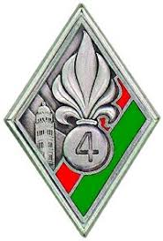 Les devises des régiments de la Légion Etrangère 4re13