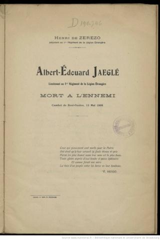 Vieux livres Légion Etrangère Albert12