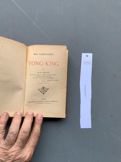 Vieux livres Légion Etrangère Asie-t11