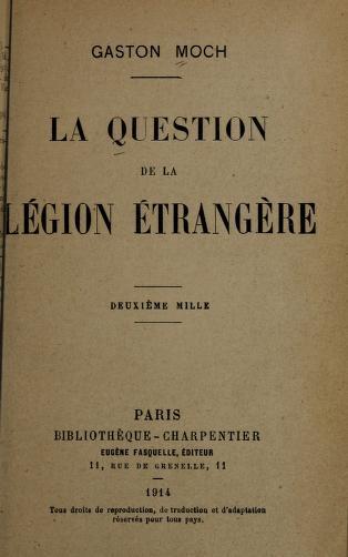 Vieux livres Légion Etrangère Laques11
