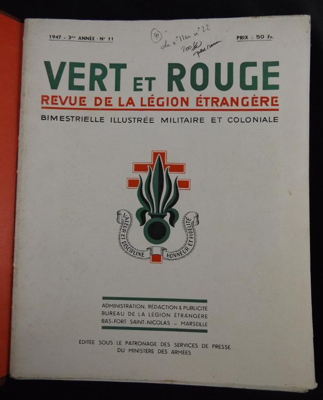 Vieux livres Légion Etrangère Tt405611