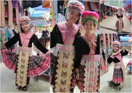 -En INDOCHINE à quelle tribus apppartenaient cette fille et femmmes Tzolz105