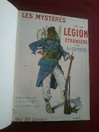 Vieux livres Légion Etrangère Tzolz543