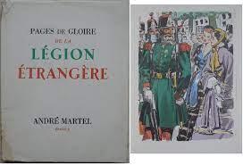 Vieux livres Légion Etrangère Tzolz556