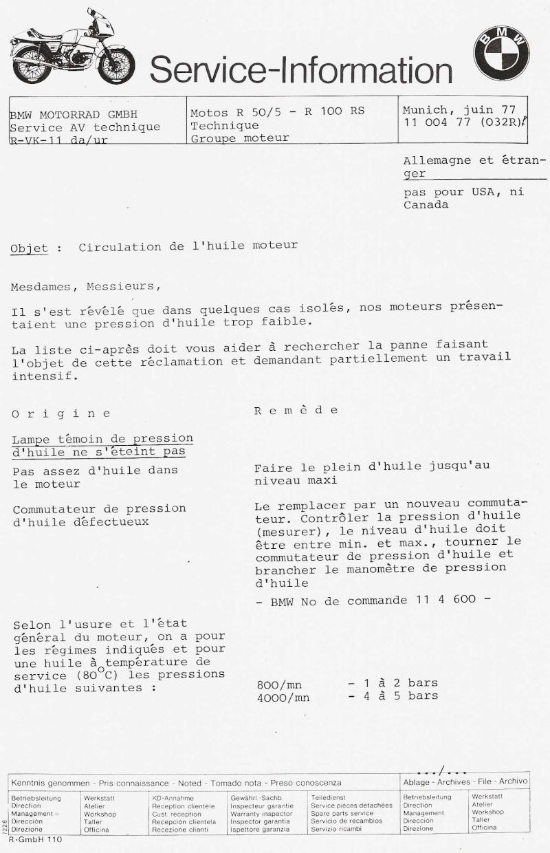 Témoin d'huile BMW R45  Baisse14