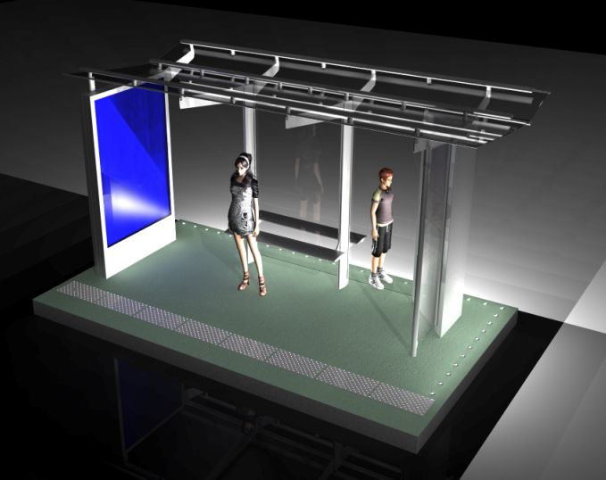 Découvrez le futur mobilier urbain parisien  14858311