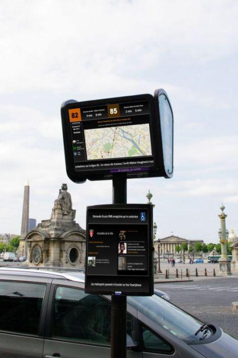 Découvrez le futur mobilier urbain parisien  14858312