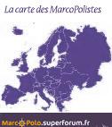 La carte de France des Marco-Polistes !!