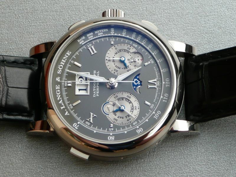 Lange & Söhne new chrono 1815 vs Datograph Montre10