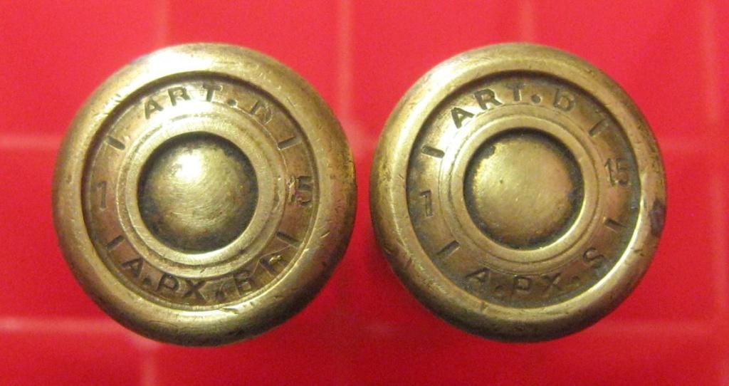 Cartouches 8mm LEBEL avec marquages dans la gorge du culot 318310