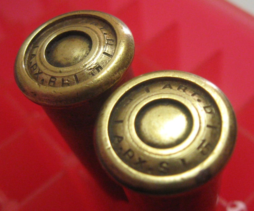 Cartouches 8mm LEBEL avec marquages dans la gorge du culot 318410