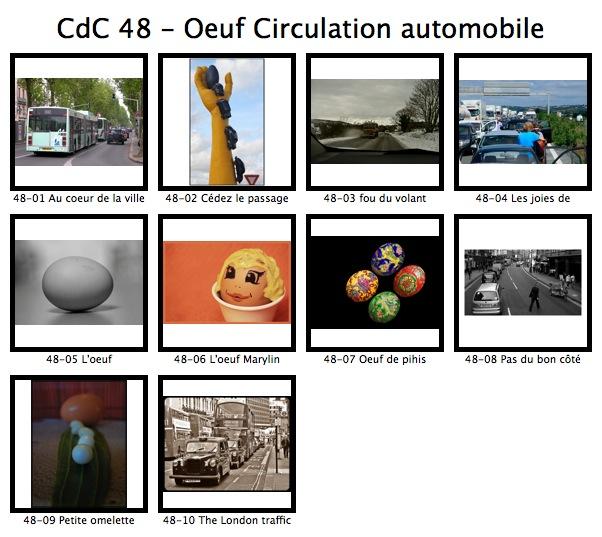 Coup de coeur n° 48 - L'oeuf / Circulation automobile Cdc_4810