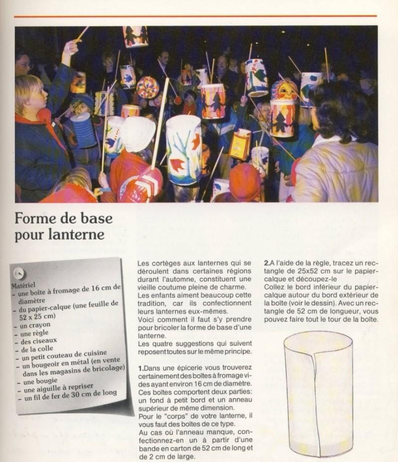 Fabrication de lanternes pour la soirée de la Saint-Martin à Wangen Image110