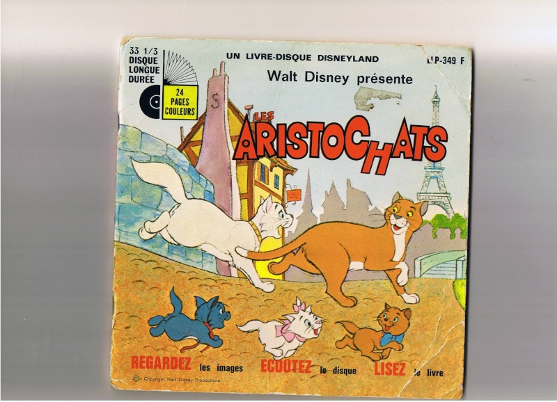 [disneyland-record] les livres disques de walt disney productions Aristo10