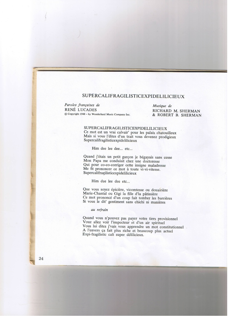 [disneyland-record] les livres disques de walt disney productions Mary_p11