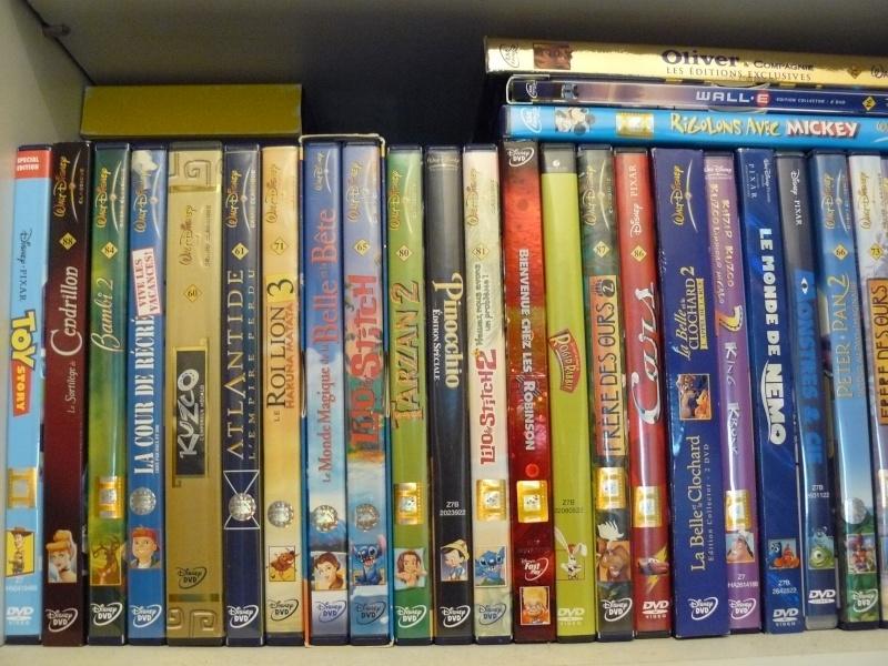 Postez les photos de votre collection de DVD et BrD Disney ! - Page 37 P1050711