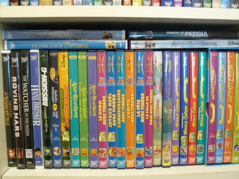 Postez les photos de votre collection de DVD et BrD Disney ! - Page 37 P1050713