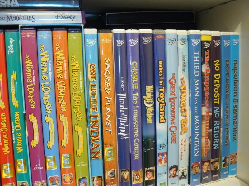 Postez les photos de votre collection de DVD et BrD Disney ! - Page 37 P1050714