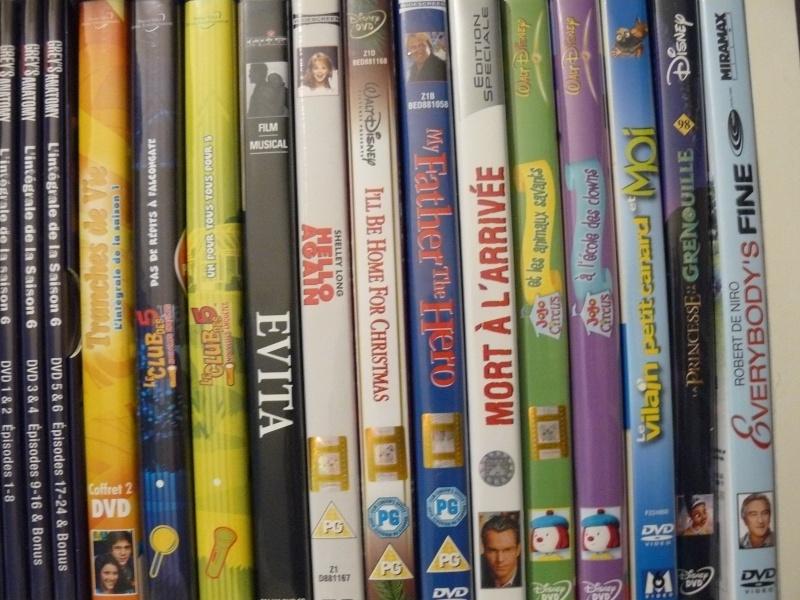 Postez les photos de votre collection de DVD et BrD Disney ! - Page 37 P1050723