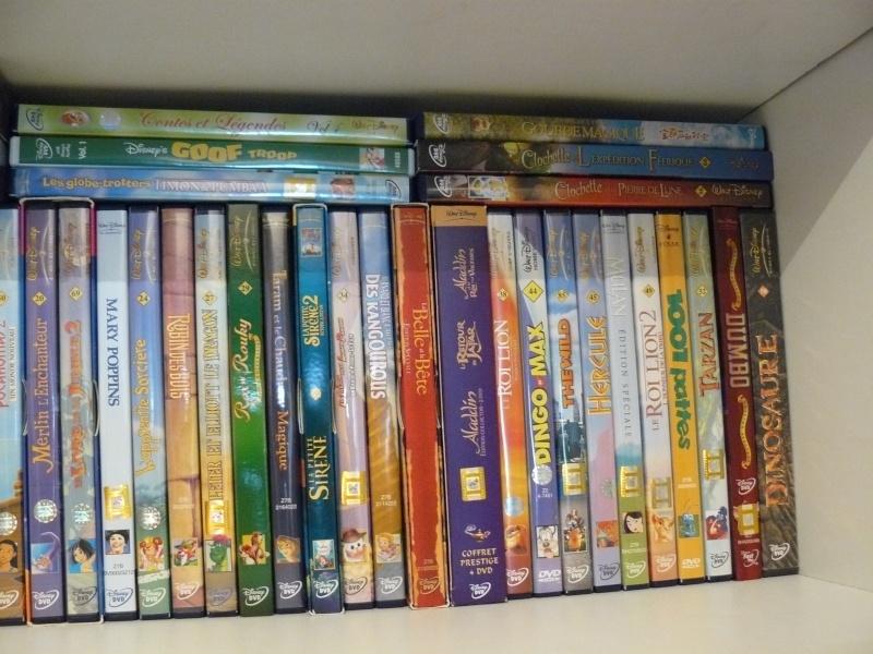 Postez les photos de votre collection de DVD et BrD Disney ! - Page 37 P1050729