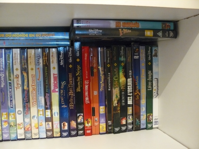 Postez les photos de votre collection de DVD et BrD Disney ! - Page 37 P1050731