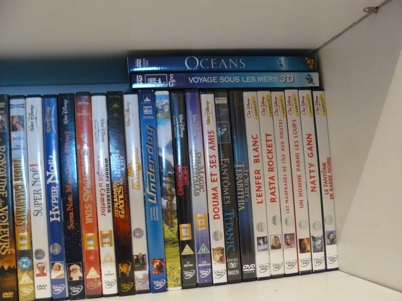 Postez les photos de votre collection de DVD et BrD Disney ! - Page 37 P1050733